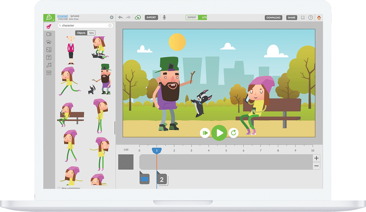 Free Cartoon Animation Maker Online