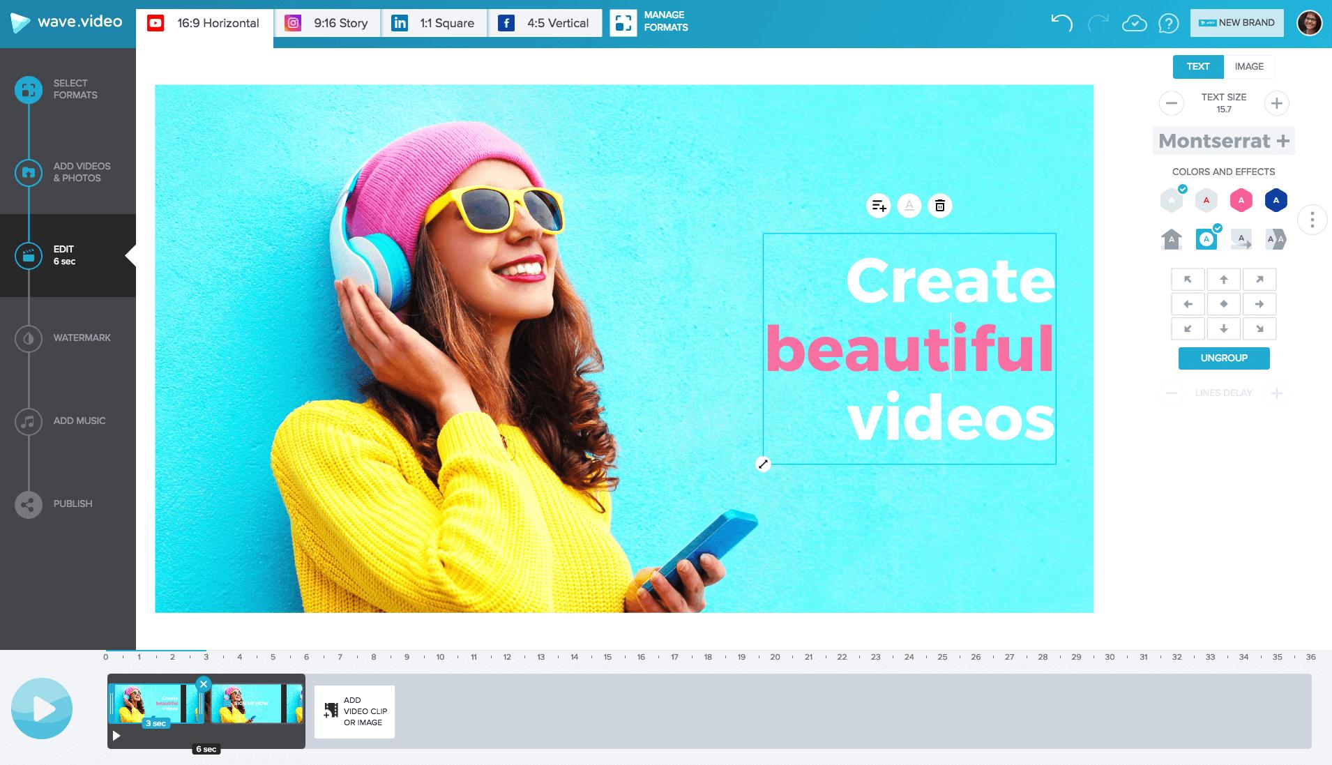 Best software to make videos online
