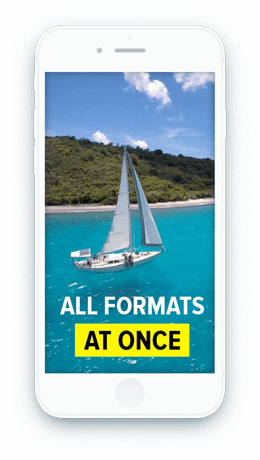 Make a video and easily resize it with Wave.video