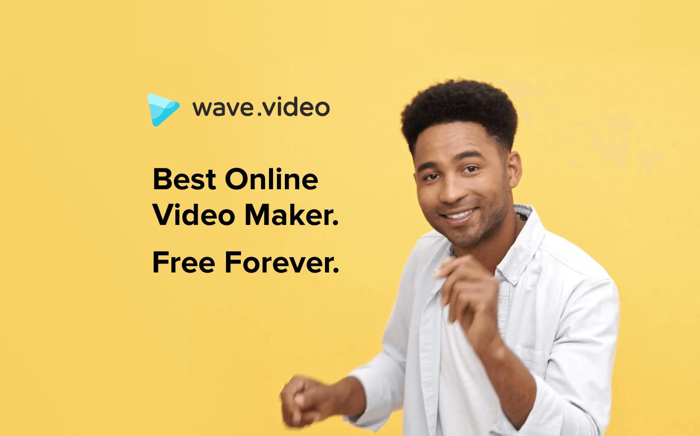 Free Online Video Maker | Wave video