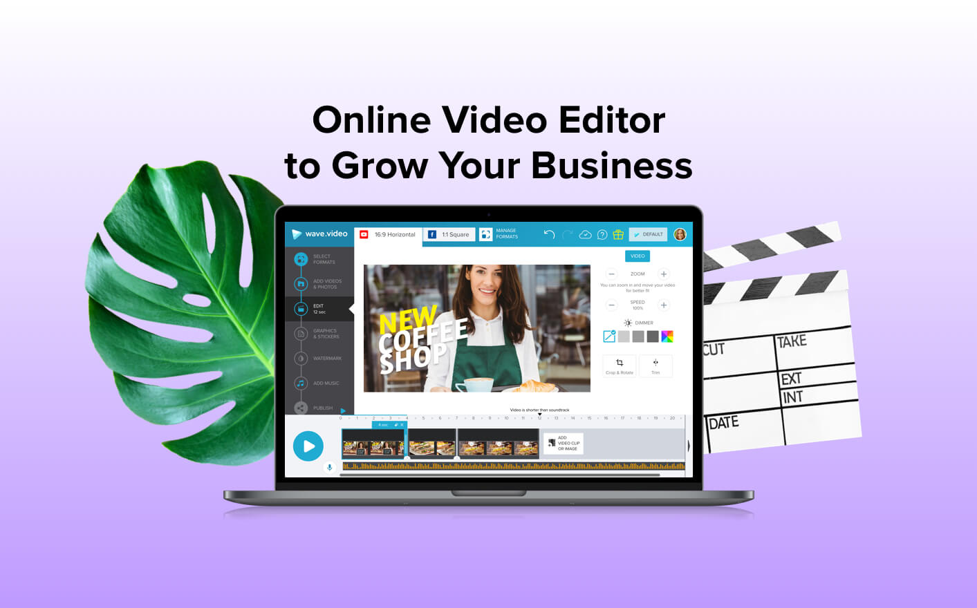 Free Online Video Editor | Wave video