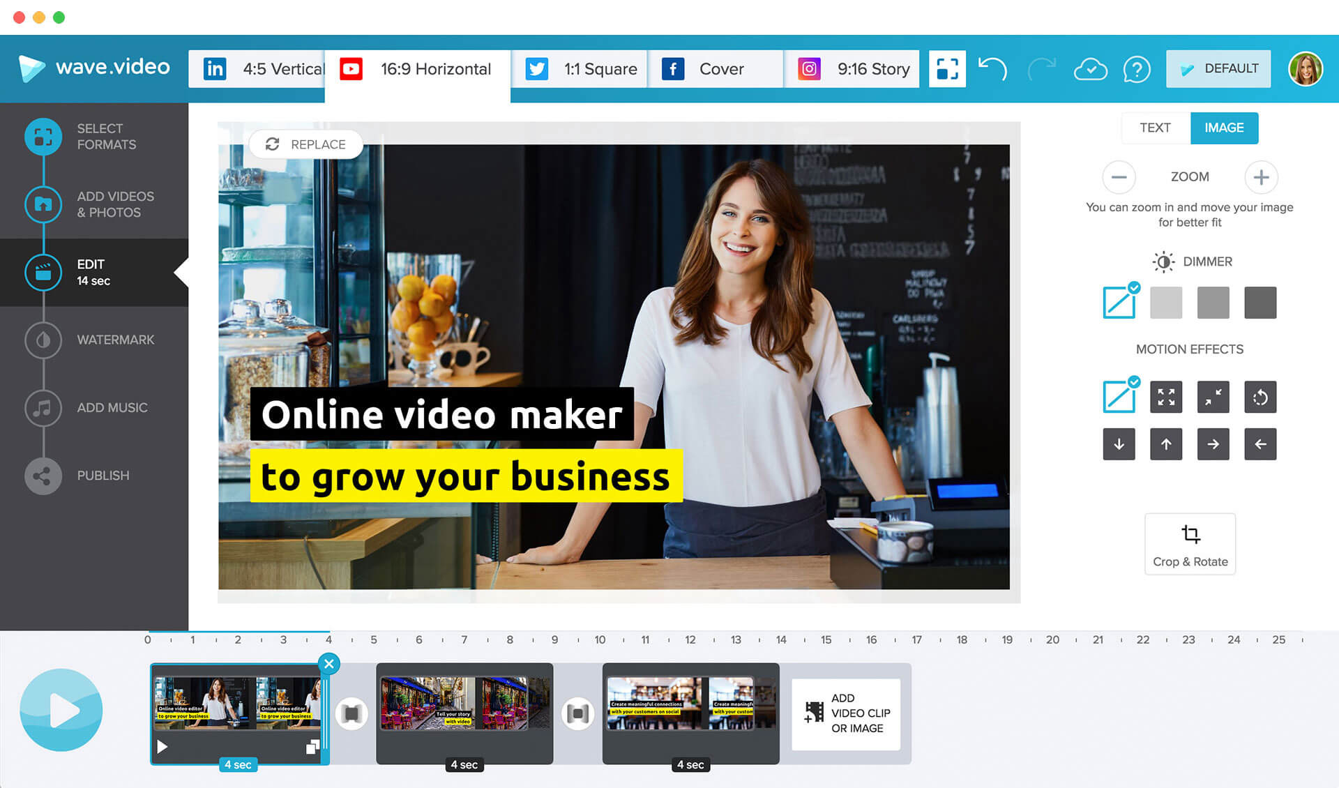 photos to video maker