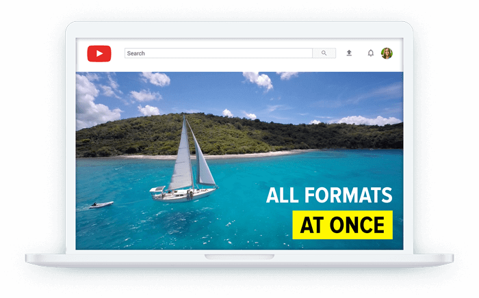 Get all aspect ratios of your video at once